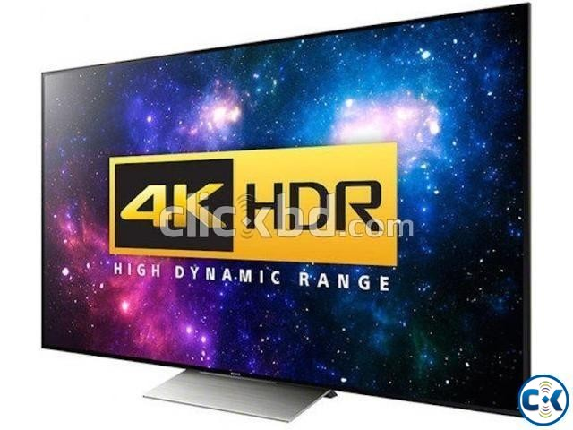 55 Sony Bravia Inch X8000E 4k UHD Android HDR TV | ClickBD large image 1