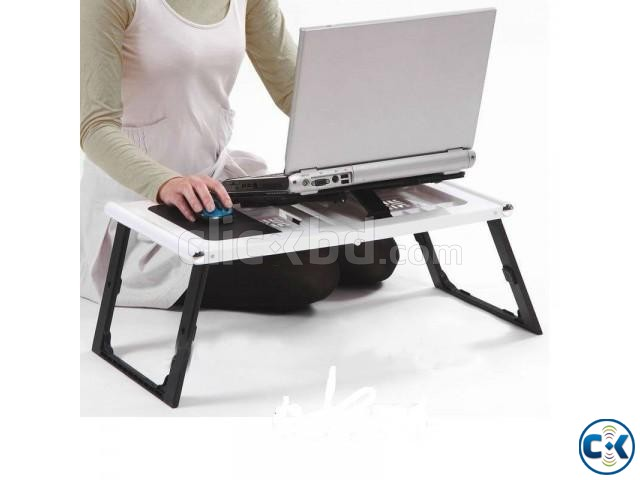 Folding Laptop Table | ClickBD large image 0