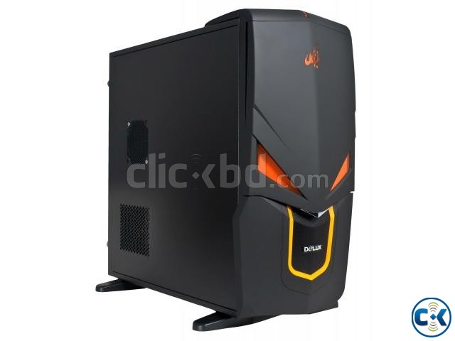 Delux DLC-SH490 Gaming Mid Tower Casing | ClickBD large image 0