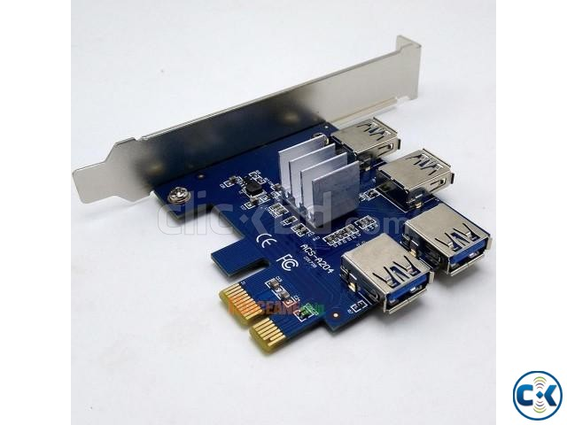 PCI-E 1to 4Ports PCI Express 16X Slot | ClickBD large image 1