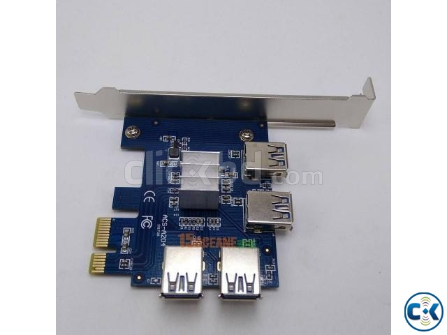 PCI-E 1to 4Ports PCI Express 16X Slot | ClickBD large image 2