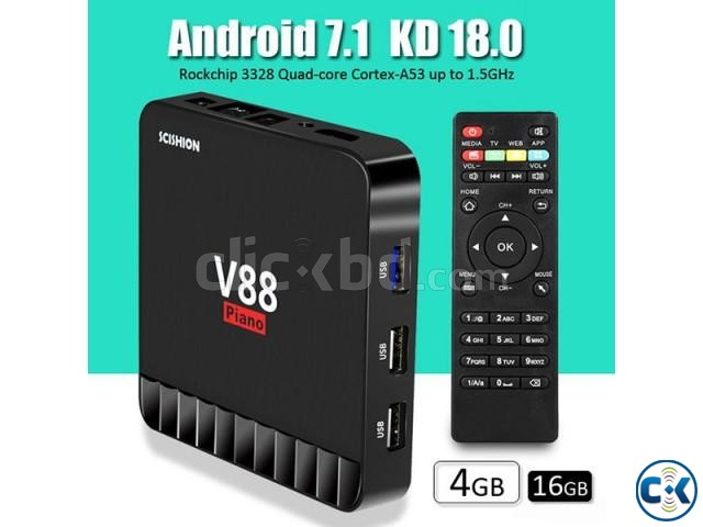 Scishion V88 Piano 4GB 16GB Android 7.1 TV Box | ClickBD