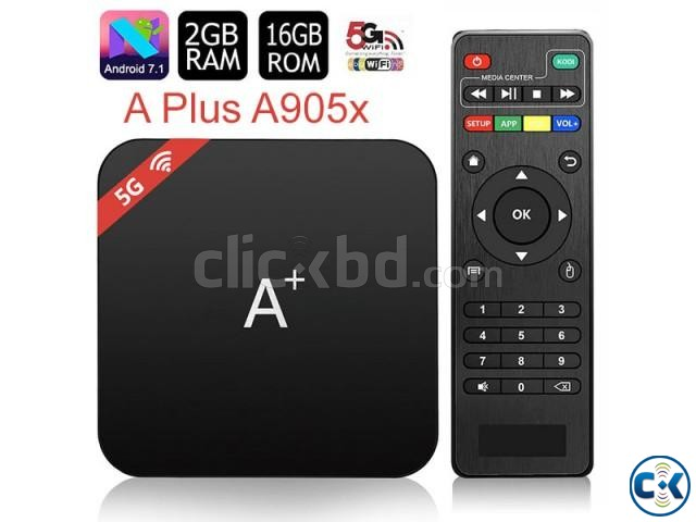 A-Plus 2G 16G Quad Core Android 7.1.2 TV Box | ClickBD large image 0