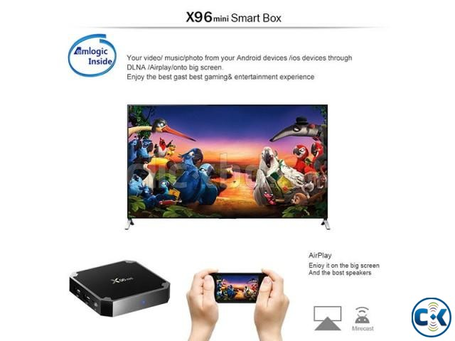 X96 MINI Android 7.1 TV Box 1G 8G Smart TV BOX | ClickBD large image 3