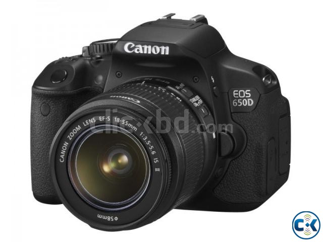 Canon EOS 650D Digital SLR Camera with 18-55 Lens | ClickBD large image 0