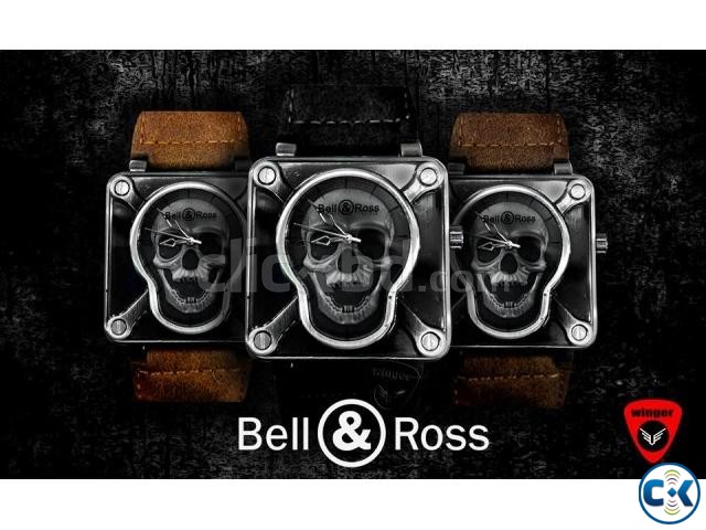 Bell Ross Skull Watch | ClickBD large image 0