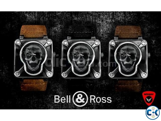 Bell Ross Skull Watch | ClickBD large image 1