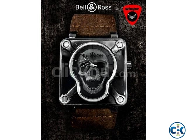 Bell Ross Skull Watch | ClickBD large image 4
