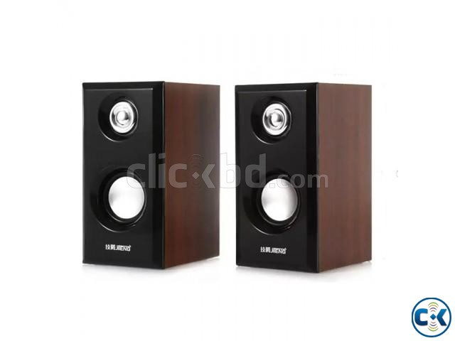 JITENG 2.0 Woodiness Multimedia USB Speakers | ClickBD large image 0