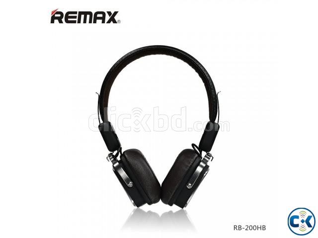 REMAX RB-200HB Stereo Bluetooth Headset | ClickBD large image 0