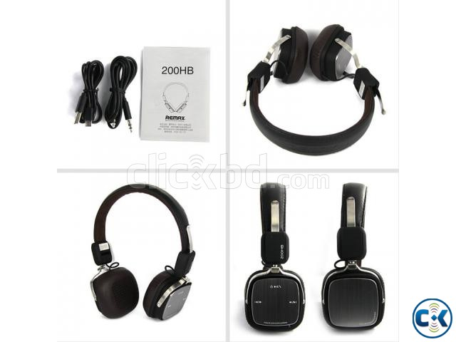 REMAX RB-200HB Stereo Bluetooth Headset | ClickBD large image 2