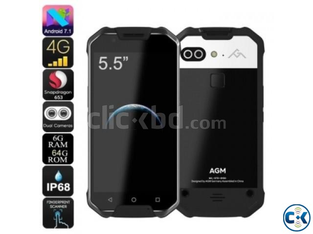 AGM X2 Rugged Phone Android 7.1 6GBRAM 64GB ROM Pre-Order | ClickBD large image 0