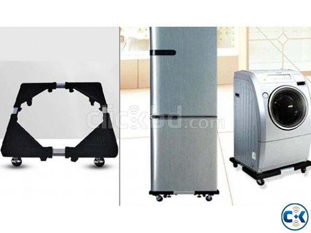 Multifunction Movable Base Stand Holder Trolley with wheel | ClickBD large image 0