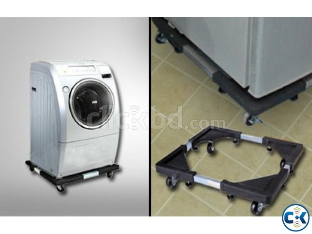 Multifunction Movable Base Stand Holder Trolley with wheel | ClickBD large image 4