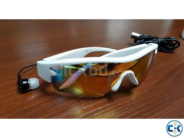 Stylish Bluetooth Smart Sunglasses | ClickBD large image 0