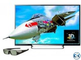 W800C 50 Inch Sony Bravia FHD Wi-Fi Smart 3D LED Android TV