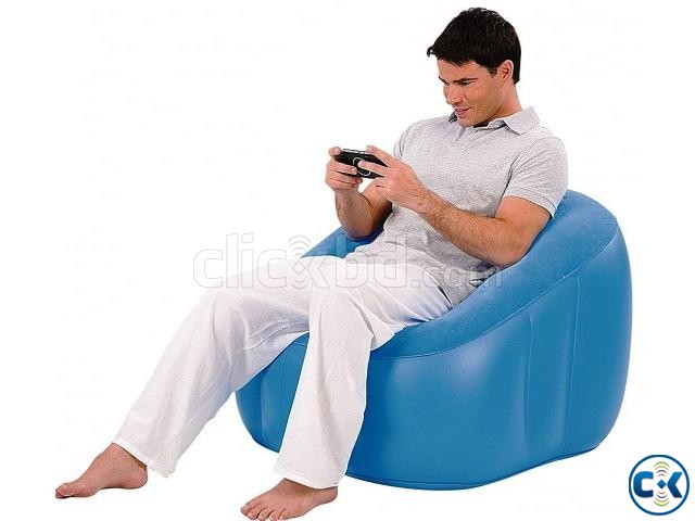 Cube Inflatable Playroom Chair | ClickBD large image 0