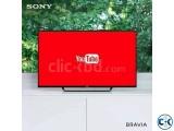 Sony Bravia 40'' W652D WiFi Smart Slim FHD LED TV Free Gift
