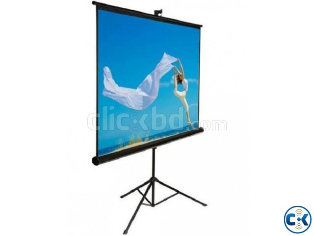 Tripod Projection Screen - 70 x 70  | ClickBD large image 0