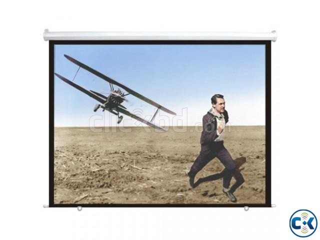 Wall and Ceiling Projection Screen 84 X 84 Inches | ClickBD large image 0