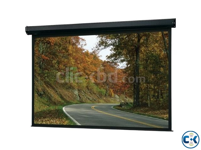 Wall Ceiling Projection Screen 96 x 96  | ClickBD large image 0