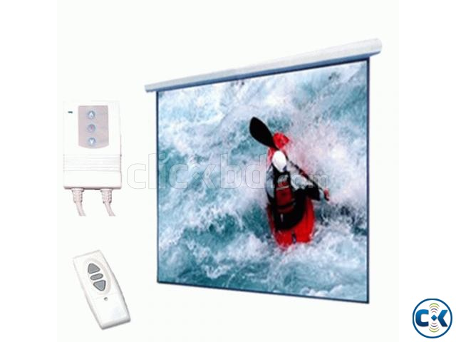 180 Electric Motorized Projector Screen | ClickBD large image 0