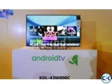 W800C 43 inch Sony Bravia Smart Android 3D LED TV