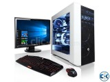 CORE i3 3.20G 4GB 500GB 17 LED PC