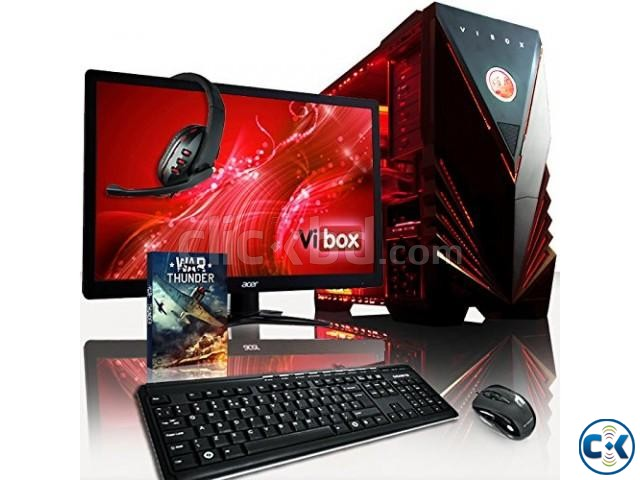 CORE i3 3.20G 4GB 500GB 17 LED PC | ClickBD large image 1