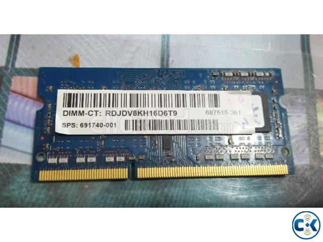 DDR3 STD 4 GB RAM for Laptop | ClickBD large image 0