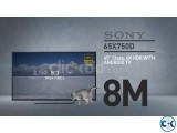 Small image 1 of 5 for Sony Bravia X7500D 65 Flat 4K UHD Wi-Fi Smart Android TV | ClickBD