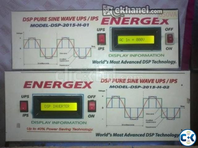 ENERGEX DSP PURE SINEWAVE UPS IPS 500VA WITH BAT. 5Yrs War. | ClickBD large image 0