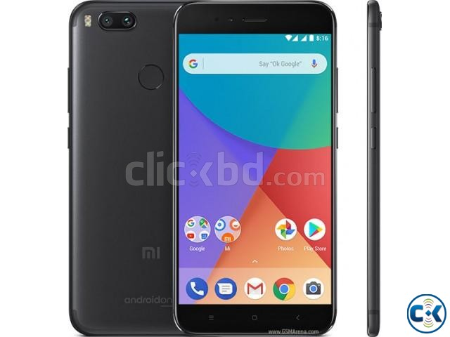 Brand New Xiaomi Mi A1 32GB Sealed Pack With 3 Year Warranty | ClickBD large image 1
