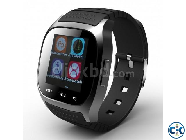 M26 Bluetooth Smart Mobile Watch | ClickBD large image 0