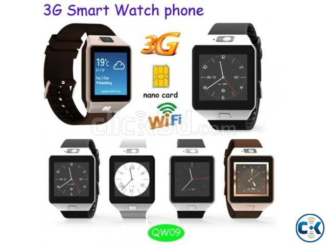 QW09 Android Smart Mobile Watch | ClickBD large image 0