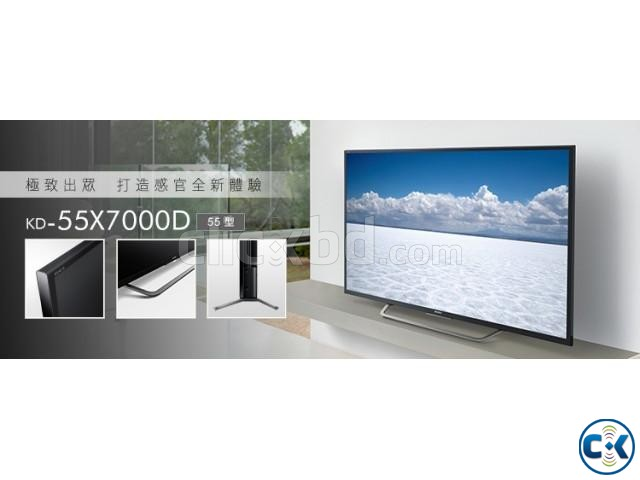 55 X7000D Sony4K HDR Android  | ClickBD large image 0