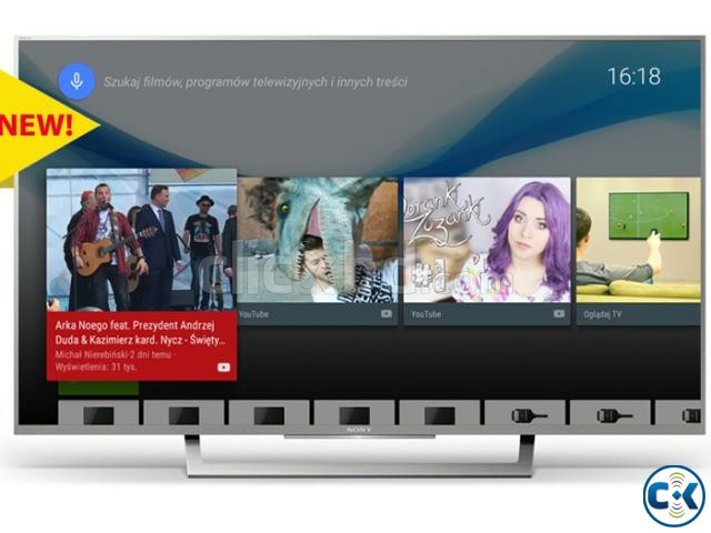 55 X8000E Sony4K HDR Android TV  | ClickBD large image 0
