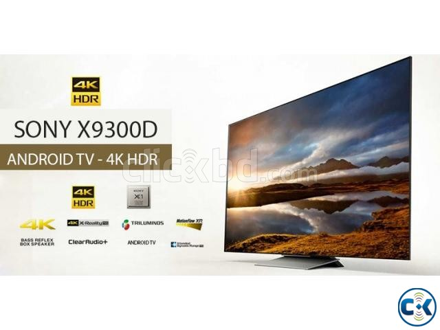 55 X9300D Sony4k HDR 3D Android  | ClickBD large image 1