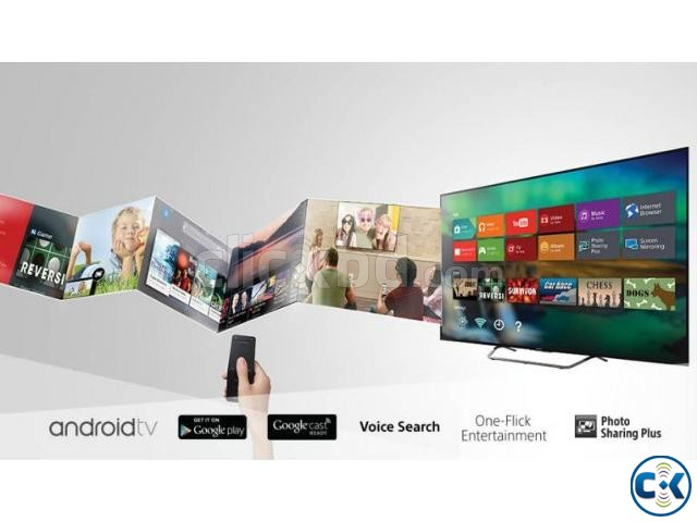 65 W850C Sony Bravia FHD 3D Androied TV | ClickBD large image 1