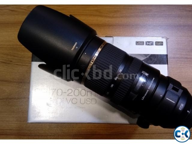 Tamron SP 70-200MM F 2.8 DI VC USD for Nikon | ClickBD large image 0