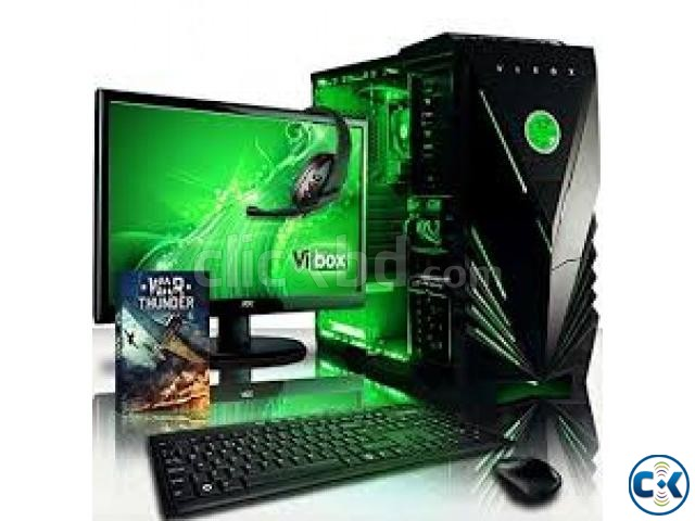 25 Core i5 1000GB 4GB 17LED Monitor | ClickBD large image 0
