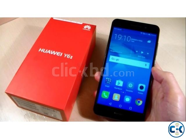 Huawei Y6-ii 1 Yr Official Warranty | ClickBD large image 1