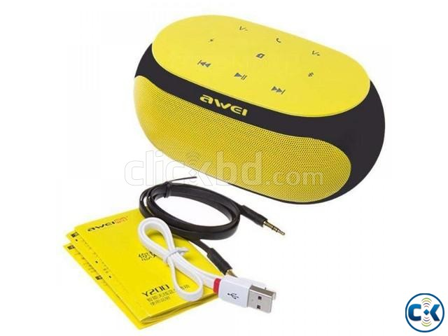 Awei Y200 HiFi Wireless Bluetooth Speaker | ClickBD large image 1