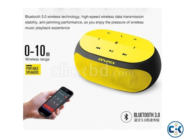 Awei Y200 HiFi Wireless Bluetooth Speaker | ClickBD large image 4