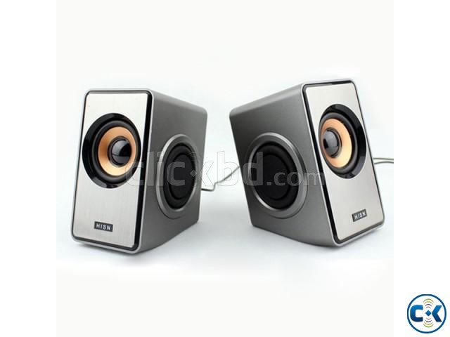 Ruizu RS-320 2.0 Channel USB Speaker | ClickBD large image 0