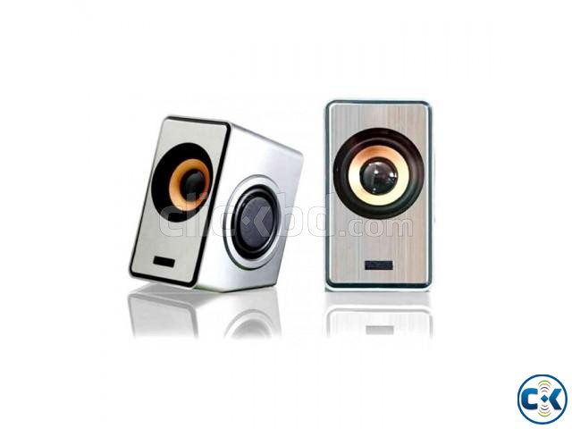 Ruizu RS-320 2.0 Channel USB Speaker | ClickBD large image 1