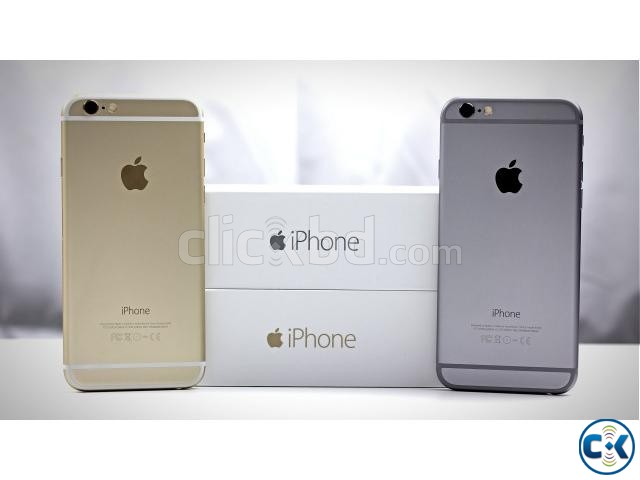Brand New Apple iphone 6 32GB Sealed Pack 3 Yr Warranty | ClickBD large image 0