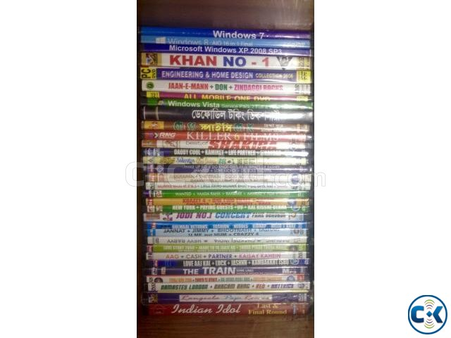 Exclusive DVD Collection 45 pcs  | ClickBD large image 0