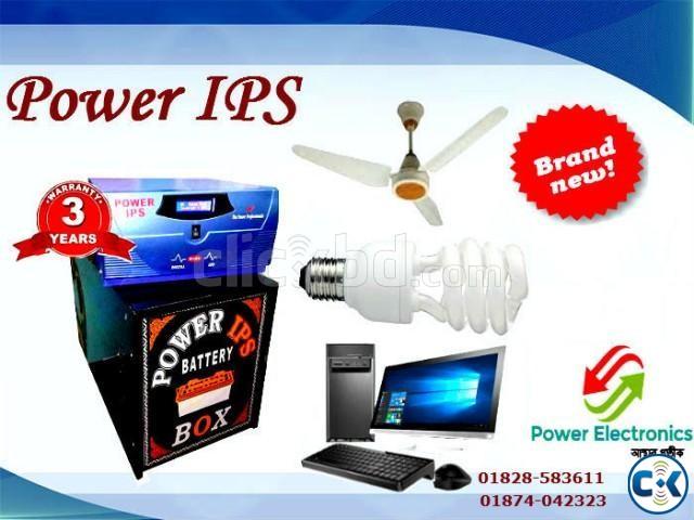 IPS 1500VA 8 Light 8Fan 3Hr backup | ClickBD large image 0