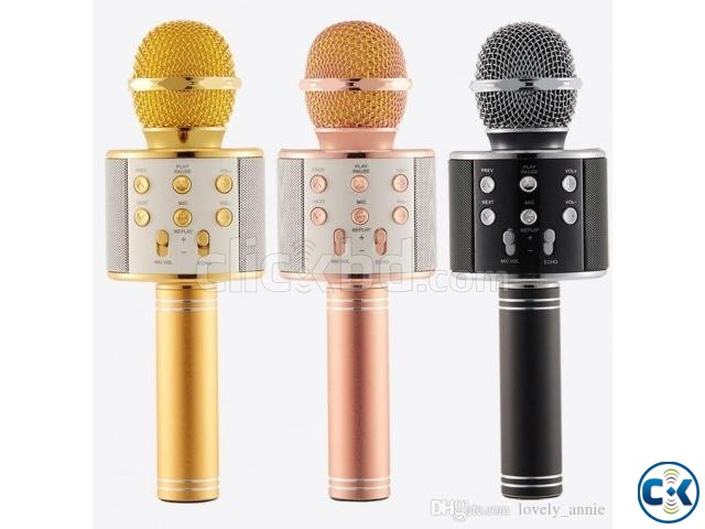 Bluetooth Microphone Karaoke 858 | ClickBD large image 0